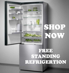 FREE STANDING FRIDGE FREEZERS